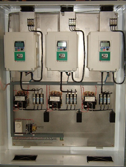 Custom Water Treatment Management Panels